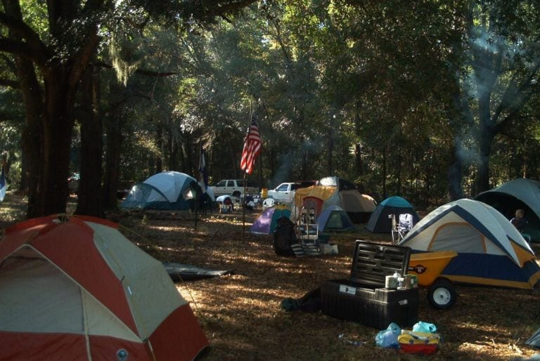 Campground - Tent Area
