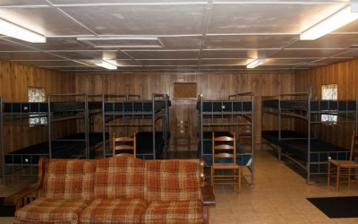 Lodge - Sleeping Area