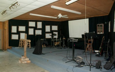 Stage in the Tabernacle- Equipment is not included